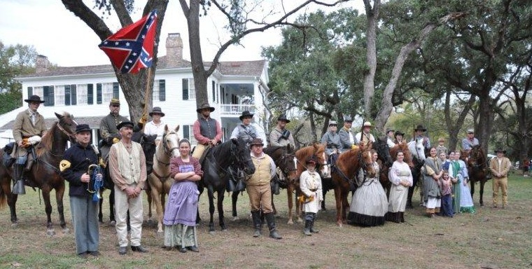 Group photo of 3rd Texas Cavalry