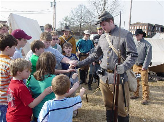 Civil War School Day